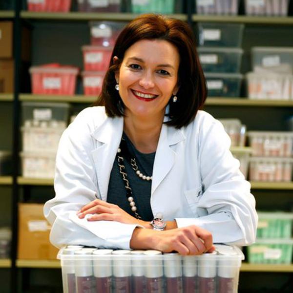 María Unceta directora de los laboratorios María Duol